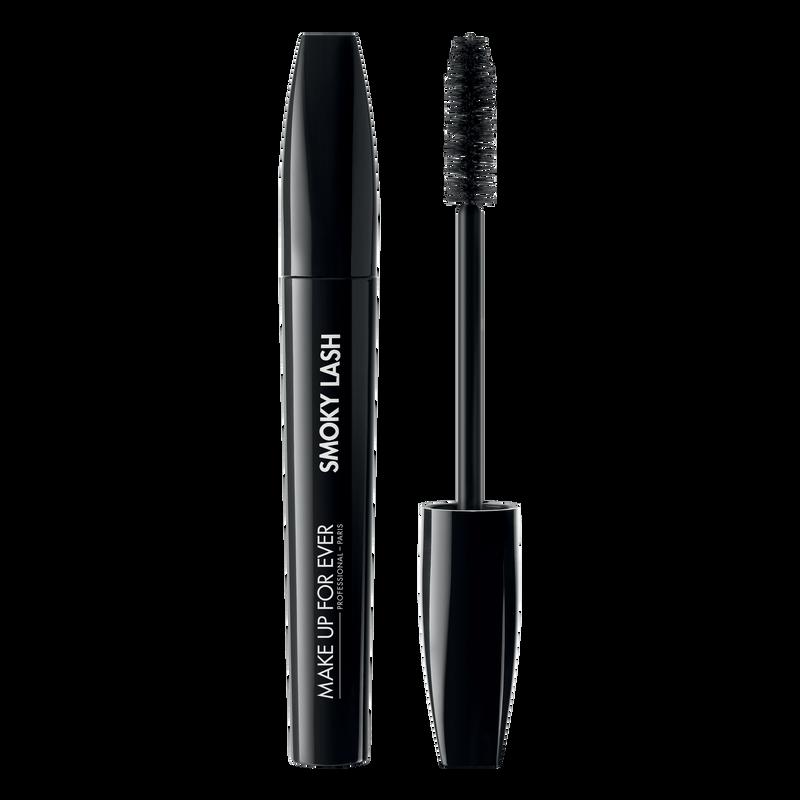 Туш для ресниц Smoky lash extra black mascara for volume, length and curl 7 мл (1 Черный) Make Up For Ever