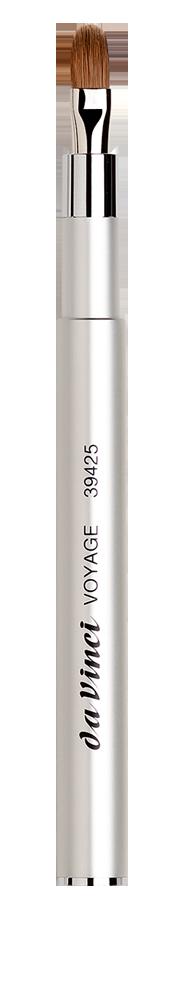 Кисть для губ в металлическом корпусе 39425 Classic Voyage Lip Brush da Vinci