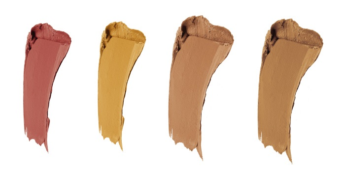 Корректирующая палетка консилер Ultra HD underpainting 2х2,3 г 2х1 г (40 Бледно - коричневый) Make Up For Ever