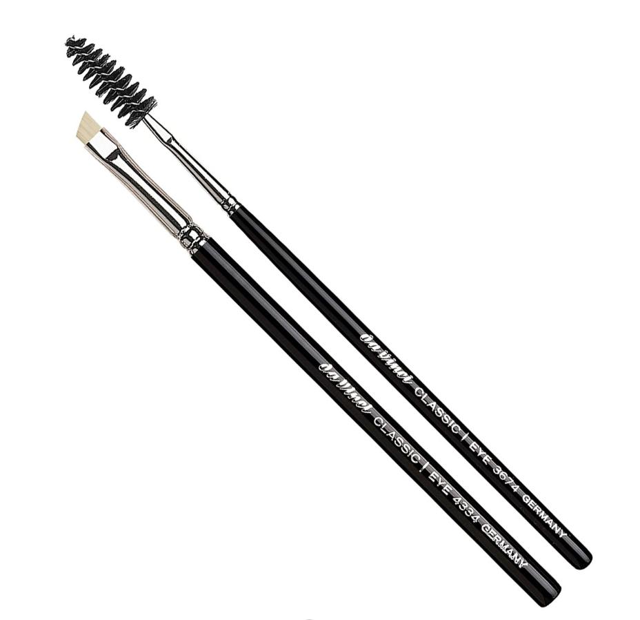 Набор кистей для бровей da Vinci / 4805 CLASSIC eyebrow set, 2 pcs. (4334, 3674)