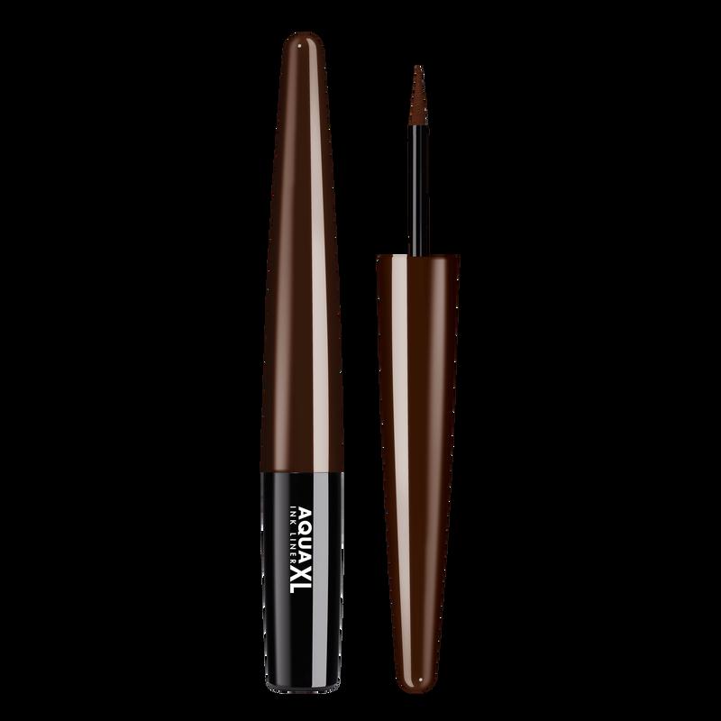 Водостойкая подводка для глаз Aqua xl ink liner extra long lasting waterproof eyeliner 1.7 мл (M-62 Коричневый матовый) Make Up For Ever