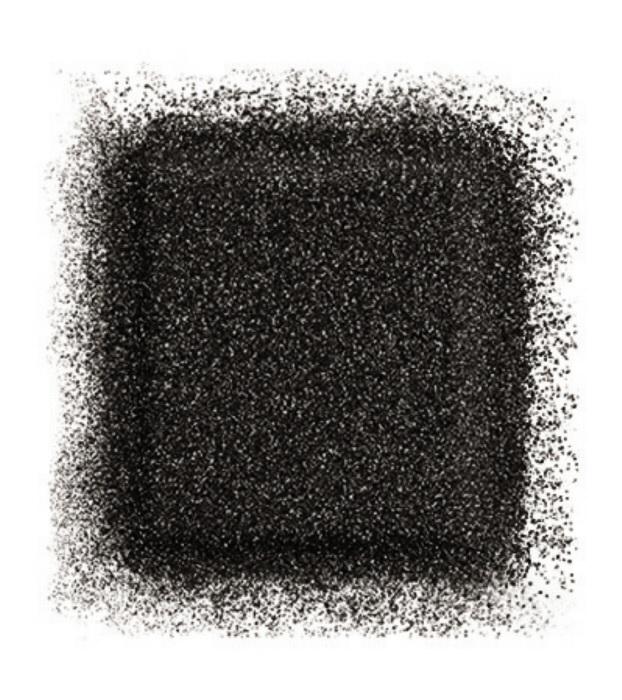 Тени для глаз Artist color shadow refill high impact eye shadow 2,5 г (D-104 Черный брилиант) Make Up For Ever