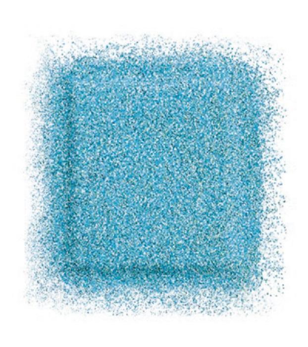 Тени для глаз Artist color shadow refill high impact eye shadow 2,5 г (D-206 Небесно - голубой) Make Up For Ever