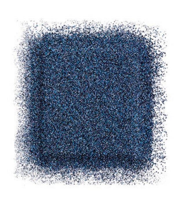 Тени для глаз Artist color shadow refill high impact eye shadow 2,5 г (D-222 Темно-синий) Make Up For Ever
