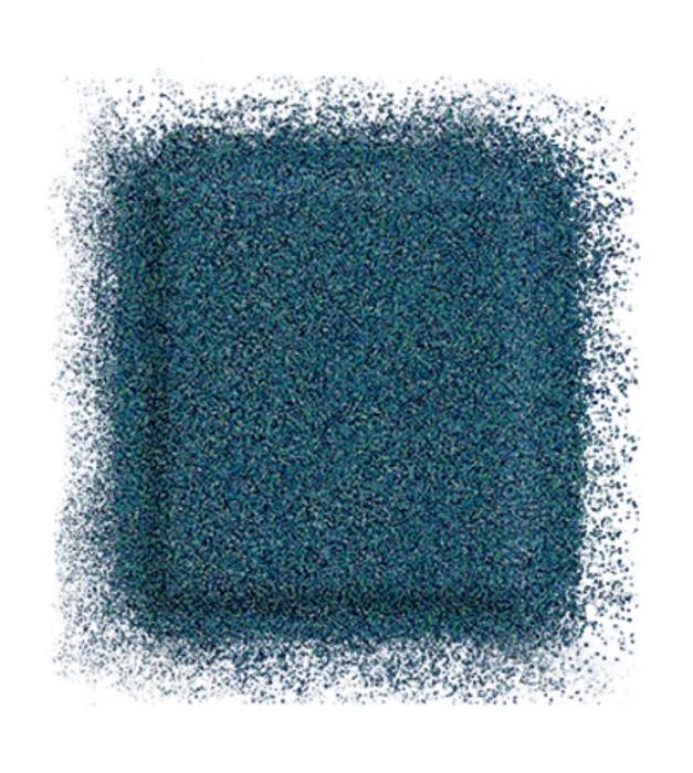 Тени для глаз Artist color shadow refill high impact eye shadow 2,5 г (ME-230 Синий павлин) Make Up For Ever