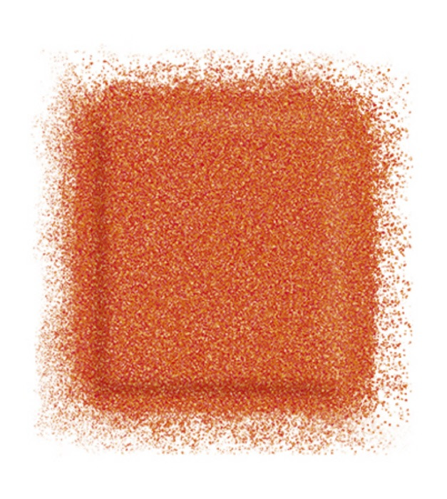 Тени для глаз Artist color shadow refill high impact eye shadow 2,5 г (ME-734 Танжерин) Make Up For Ever