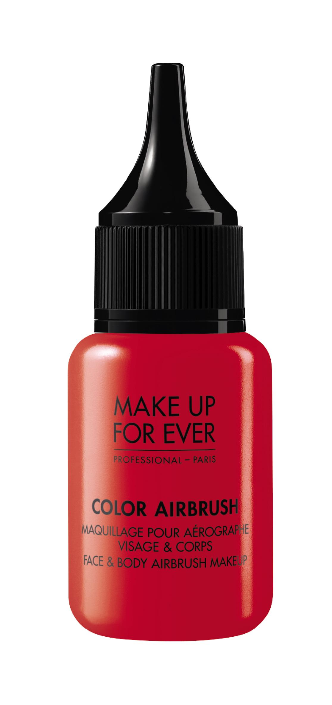 Color Air Brush / Face & Body Airbrush Makeup / Краска для аэрографа 60 мл (M704 Красный)