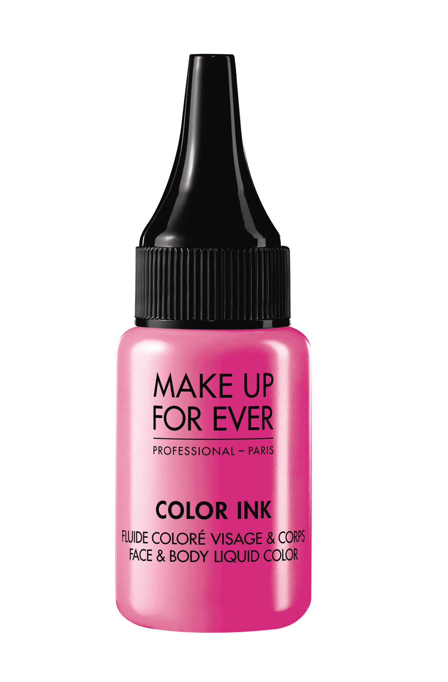 Цветная краска / Color Ink / Face & Body Liquid Color 15 мл (M804 Фуксия) Make Up For Ever