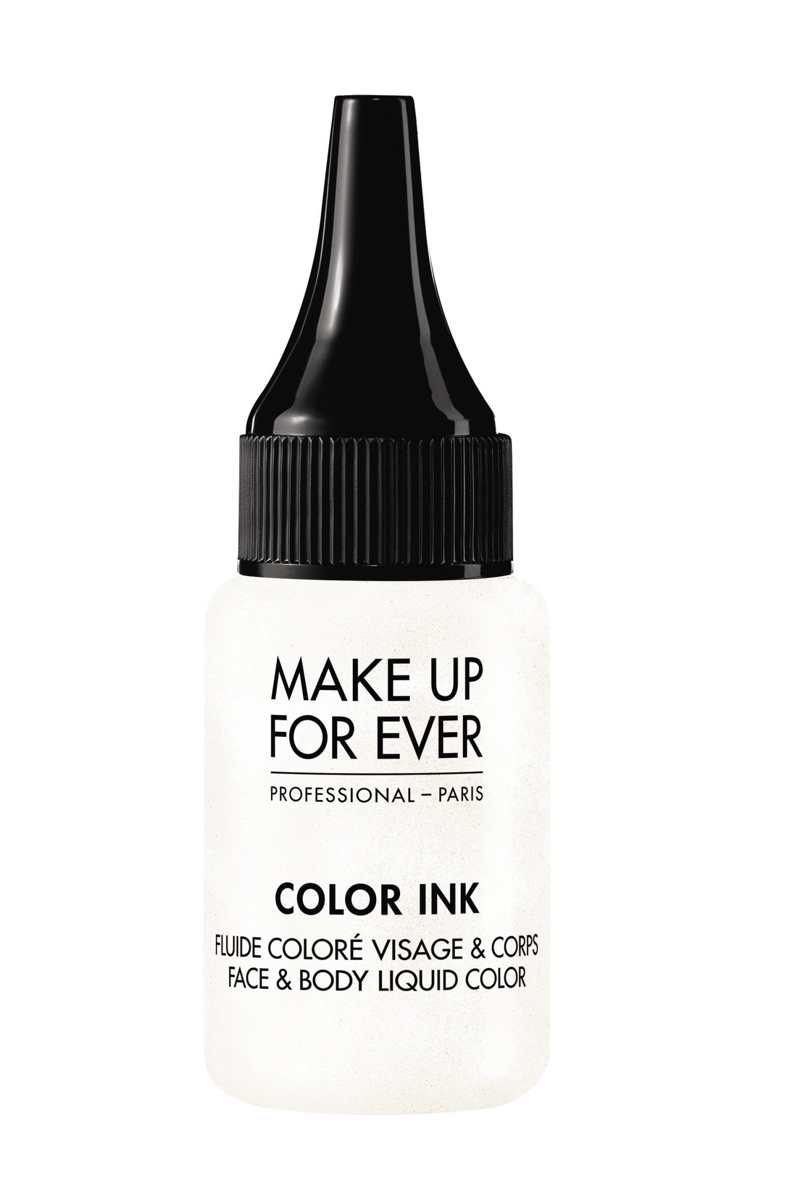 Цветная краска / Color Ink / Face & Body Liquid Color 15 мл (ME108 Жемчужно-белый) Make Up For Ever