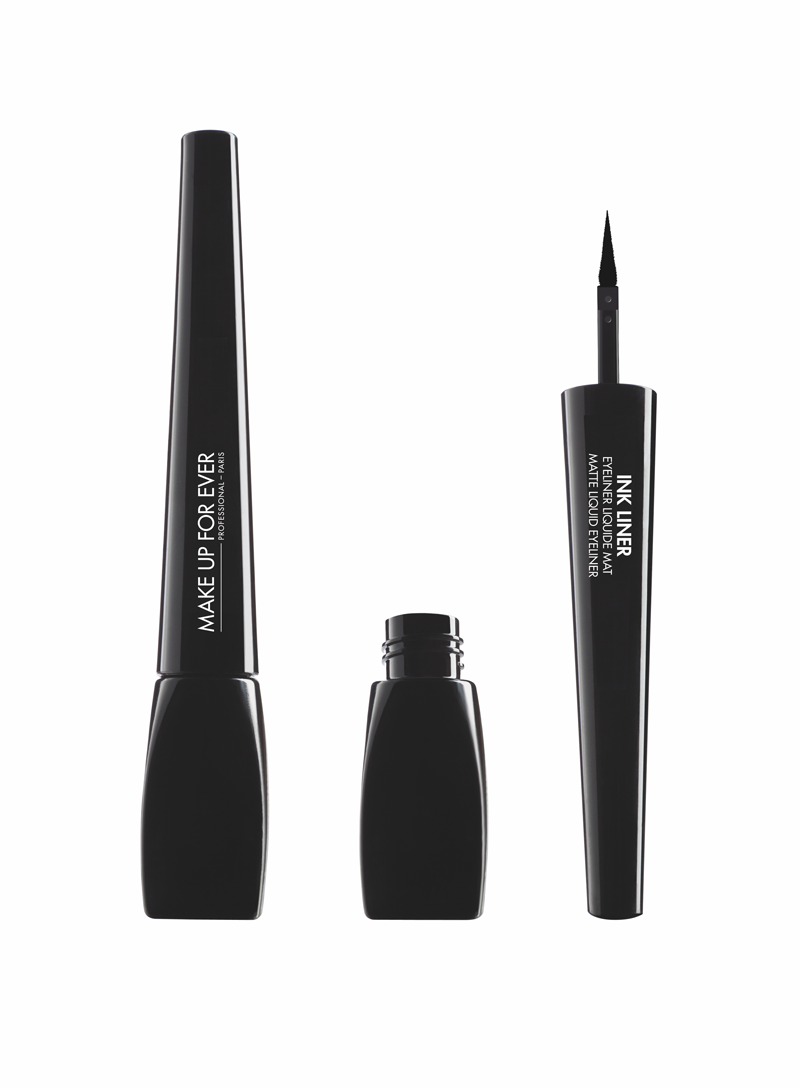 Подводка для глаз Ink Liner matte liquide eyeliner 3.5 мл (1 Матовый черный) Make Up For Ever