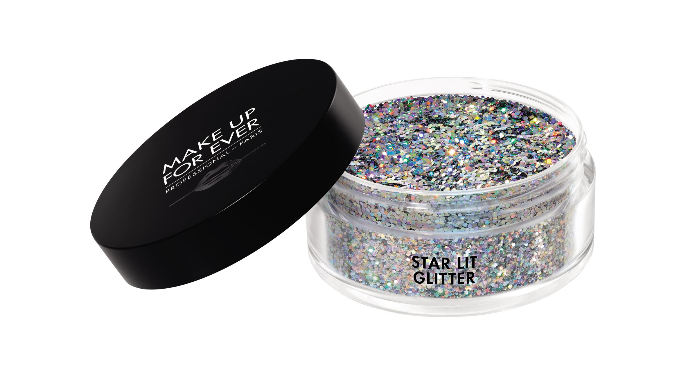 Пайетки / Glitters 25 г (L107 Голографическое серебро) Make Up For Ever