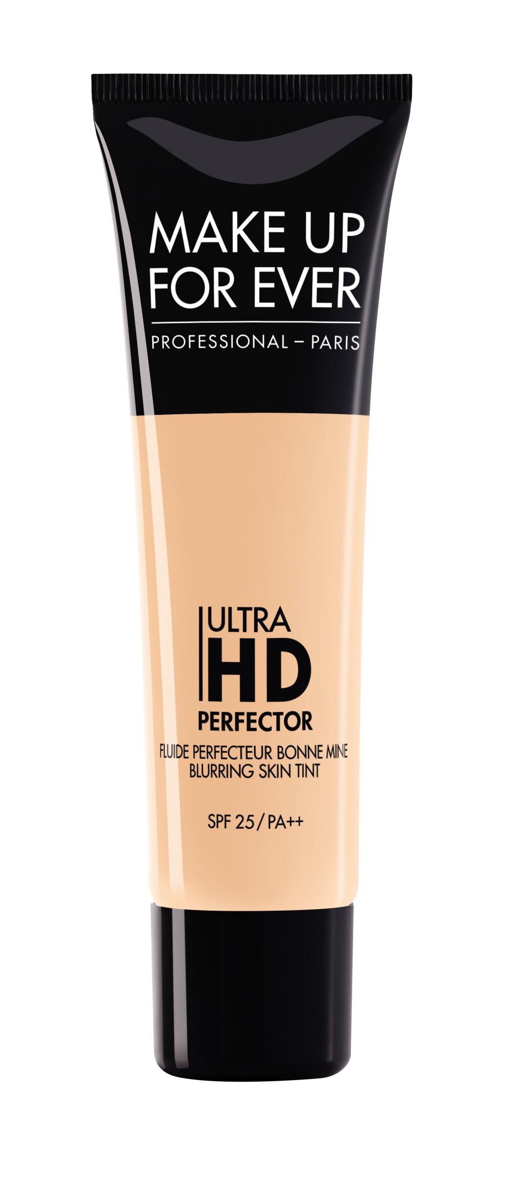 Тональный крем для лица Ultra HD Perfector blurring skin tint spf 25/pa++ 30 мл (2 Розовый песок) Make Up For Ever
