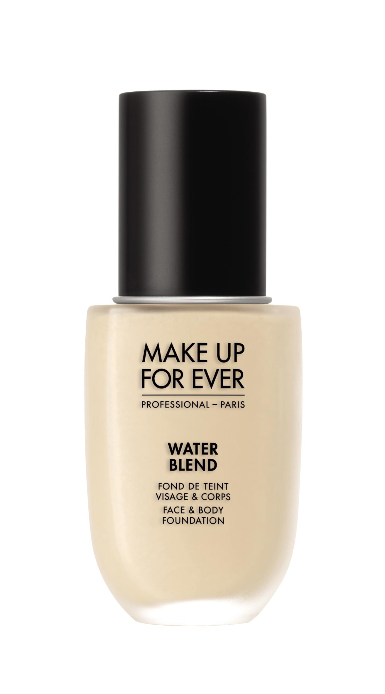 Тональный крем на водной основе для лица Water blend face & body foundation 50 мл (Y215 Желтый алабастер) Make Up For Ever