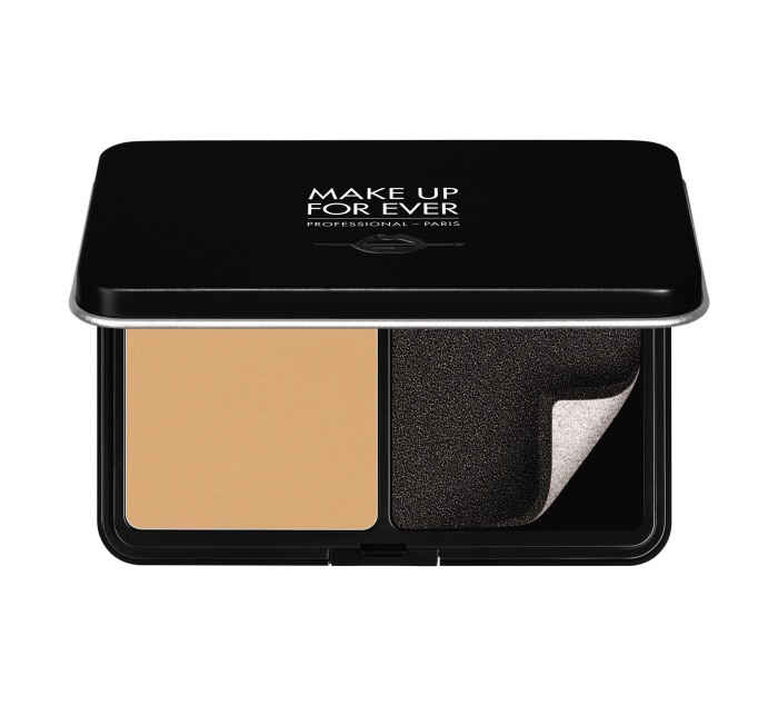 Пудра для лица Matte velvet skin compact blurring powder foundation 11 г (Y245 Мягкий песок) Make Up For Ever